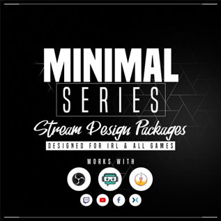minimal-series-stream-design-overlay-package